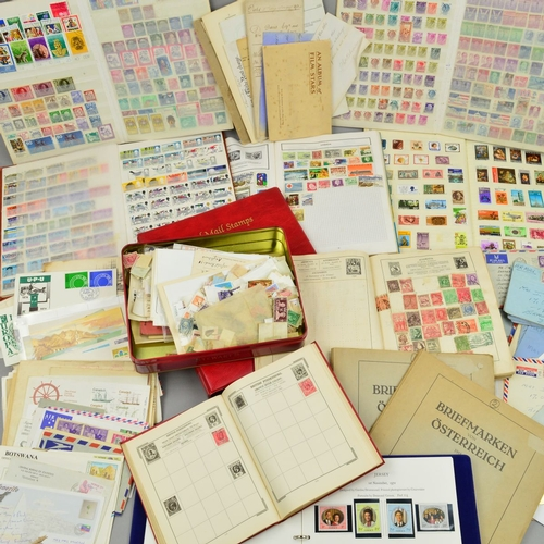 30 - A COLLECTION OF GREAT BRITISH STAMPS AND COVERS...