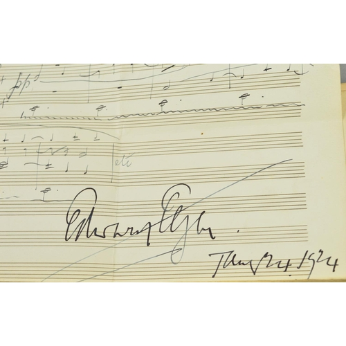 387 - AN AUTOGRAPH COLLECTED IN AROUND 1923 BY MR HERBERT TABB AND MRS LYDIA TABB WORKING ON BEHALF OF BAR...