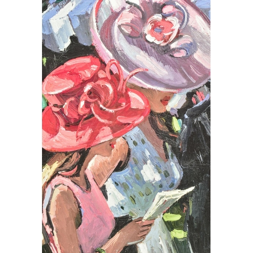11 - SHERREE VALENTINE DAINES (BRITISH 1959), 'Society Ladies', a Limited Edition print of female figures...