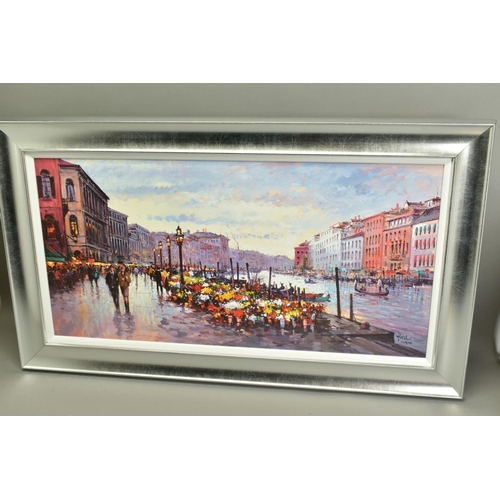 111 - HENDERSON CISZ (BRAZIL 1960), 'Afternoon in Venice', a Limited Edition print, 9/195, signed bottom r...