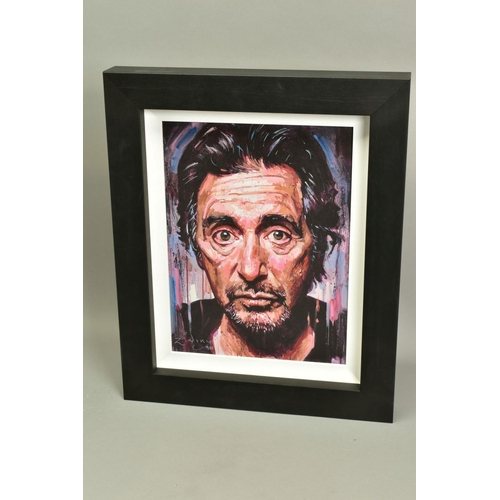 12 - ZINSKY (BRITISH CONTEMPORARY), 'AL Pacino II', a portrait of the film star, a Limited Edition print,...