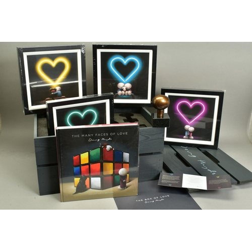 134 - DOUG HYDE (BRITISH 1972), 'Box of Love', a Limited Edition box set containing a bronze sculpture, fo...