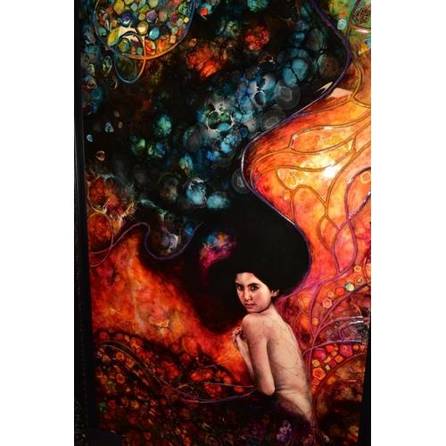 156 - KERRY DARLINGTON (BRITISH 1974), 'XL Undine', a 3D portrait of a female figure, a Limited Edition No...