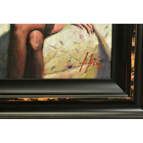 16 - FABIAN PEREZ (ARGENTINA 1967), 'Kayleigh at The Ritz', a Limited Edition print of a female figure, s...
