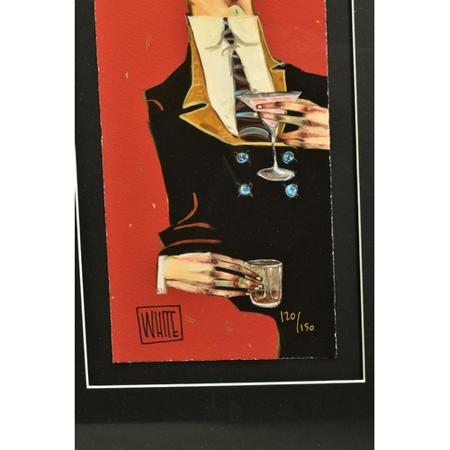 17 - TODD WHITE (AMERICAN 1969) 'I Knew You'd Be Back', a Limited Edition print of a male figure, 120/150...