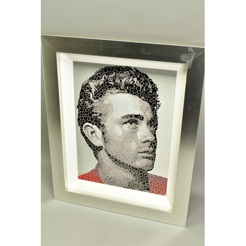 20 - PAUL NORMANSELL (BRITISH 1978), 'James Dean, The Rebel', a Limited Edition print on aluminium, initi...