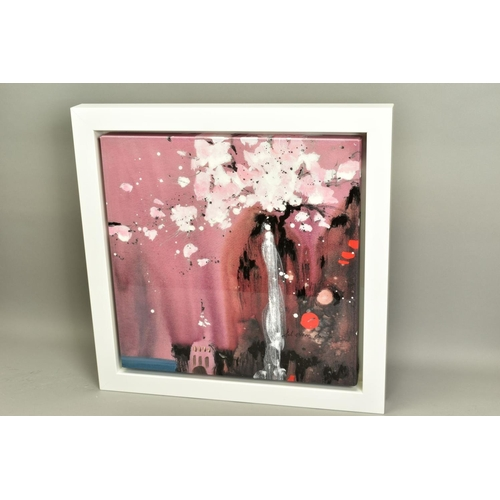 25 - DANIELLE O'CONNOR AKIYAMA (CANADA 1957), 'Painted Dreams I', a Limited Edition print of a waterfall ...