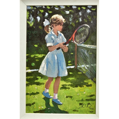 29 - SHERREE VALENTINE DAINES (BRITISH 1959), 'Playful Times I', a Limited Edition print of a young girl ...