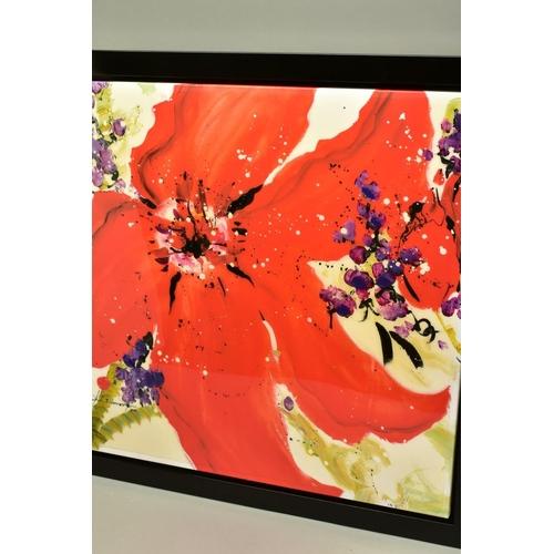 61 - DANIELLE O'CONNOR AKIYAMA (CANADA 1957), 'Journey I', a Limited Edition print of blossom, 36/195, si...