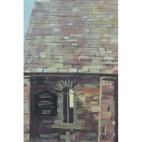 92 - JAMES BARTHOLOMEW (BRITISH CONTEMPORARY), 'Lakeland Church', a study of an old church, signed bottom...