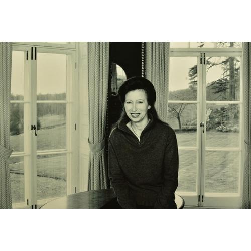 97 - JOHN SWANNELL (BRITISH 1946), 'HRH The Princess Royal 2000 II', a giclee portrait of Princess Ann 1/...