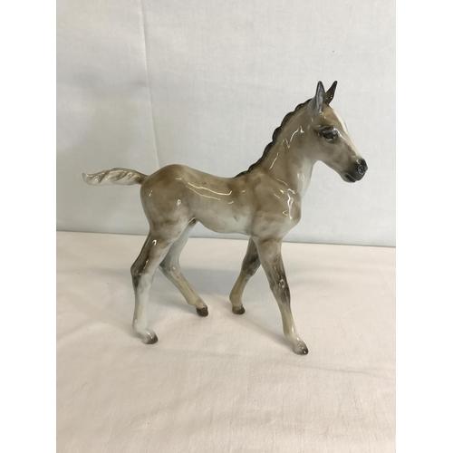 152 - Rosenthal Foal Horse figure by Heidenreich...