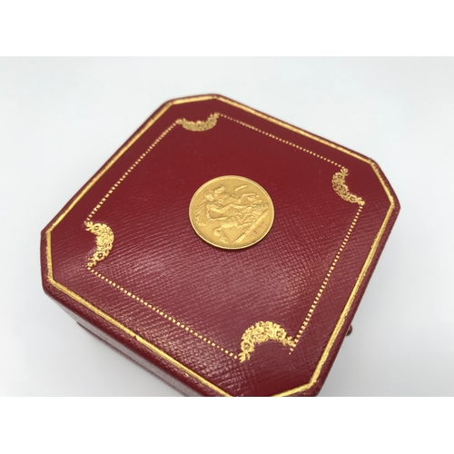 25 - Victoria Gold half sovereign dated 1900....