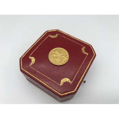 30 - A Queen Victoria Gold full sovereign coin dated 1876....
