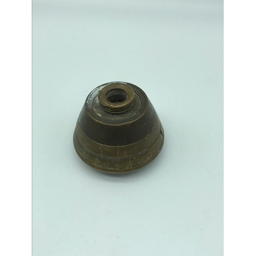 15 - WW1 Military fuse shell top. From the Somme area, Village near Albert....