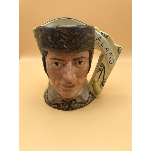 43 - Royal Doulton Toby Jug Alamo 'The Antagonists Collection'...