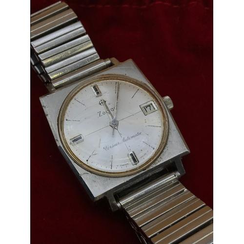 39 - A Zodiac Corsair Automatic watch. working...