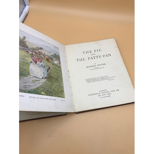 11 - Beatrix Potter- The pie and the Patty- Pan . 1905. Frederick Warne & Co....