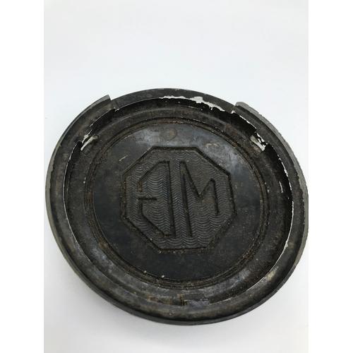 26 - A Vintage MG Steering wheel badge....