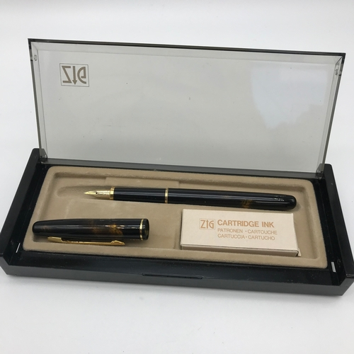 35 - A Vintage ZIG Fountain pen....