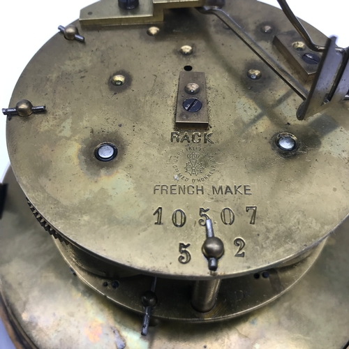 41 - An Antique French Japy Freres clock movement....