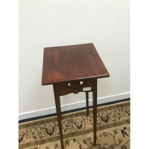 10C - A 1920's arts & crafts plant stand, styled in a McIntosh manner...