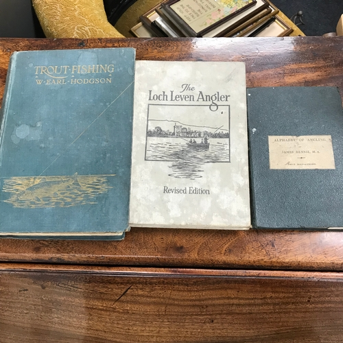 392 - A 1st Edition Alphabet of Angling book by James Rennie M.A. The Loch Leven Angler book by the late R...