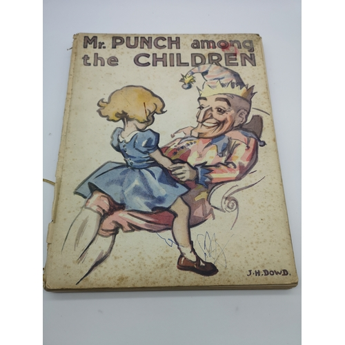 273 - A collection of vintage books to include titles such as 'Mr Punch among the Children', 'Wonders of L...