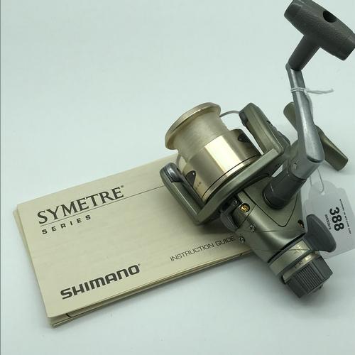 388 - A Shimano Symetre 4000RG Spinning reel....