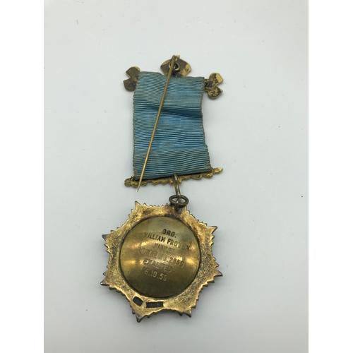 19 - A Birmingham silver Masonic Lodge medal