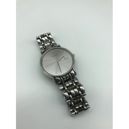 47 - Gents Longines Presence watch. L4.720.4. In a working condition....