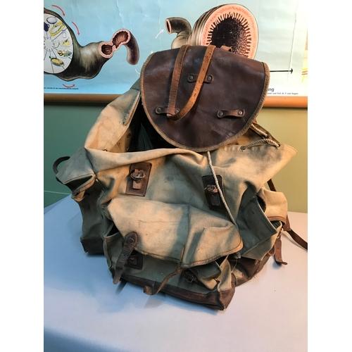 188 - WW2 Russian back pack...