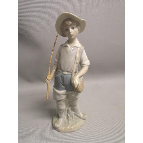 6 - A Lladro fisherman figurine...