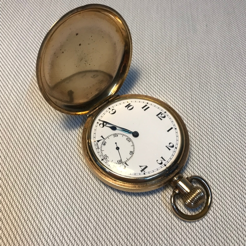 24 - A Vintage Star Dennison watch case co pocket watch, In a running condition....
