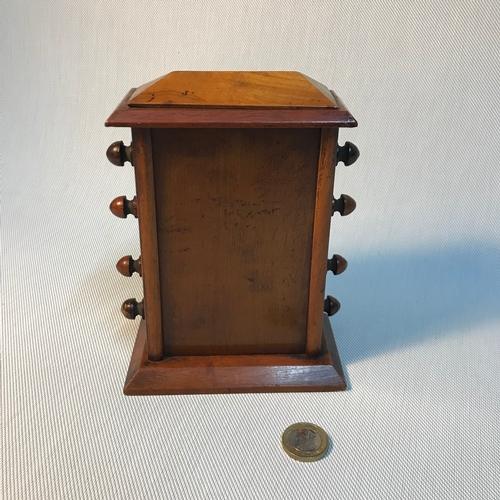 50 - A Late 19th century/ early 20th century desktop perpetual calendar. Measures 17x12x7cm...