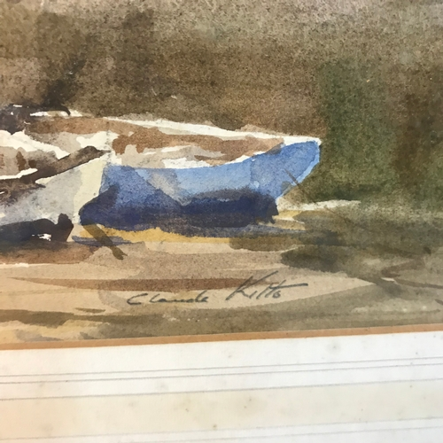 5B - Claude Kitto  Original watercolour on paper titled