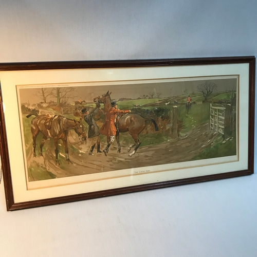 90B - After Lionel Edwards- Equestrian Chromolithograph  (British, 1878-1966) print titled