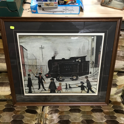 595C - L.S.Lowry signed limited edition print