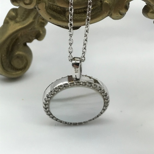 46J - A Lot of silver jewellery to include silver 925 and Turquoise style stone pendant with chain and mat...