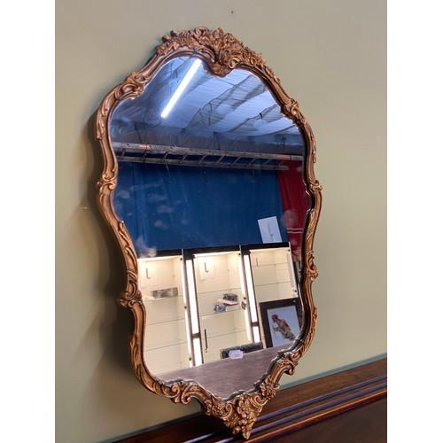 5 - A Vintage Atsonea ornate gilt framed mirror. [75x46cm]...