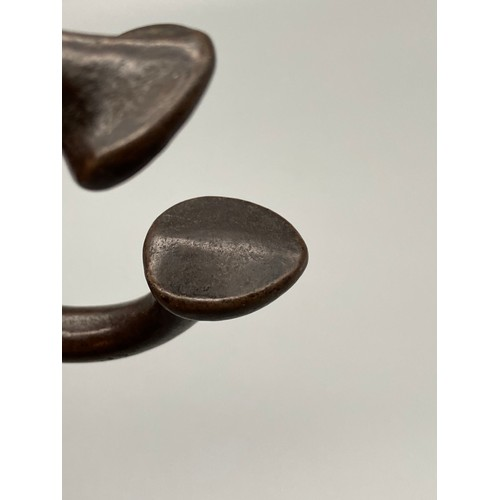 188J - An 18th century bronze Manilla Token....
