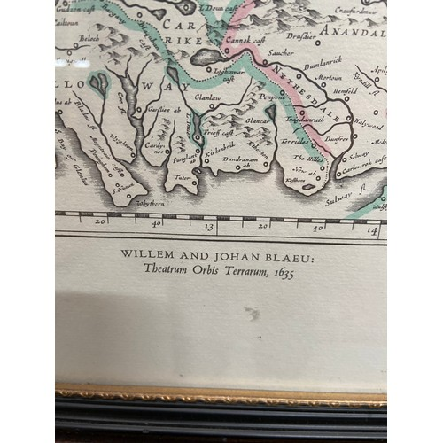 445C - Two vintage maps of Scotland printed by Bartholomews & Sons Ltd and County of Sutherland....