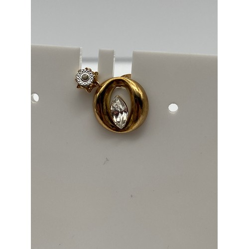 16 - A Pair of 9ct gold and CZ Earrings, A Pair of 9ct gold and diamond stud earrings, Single 9ct gold an...
