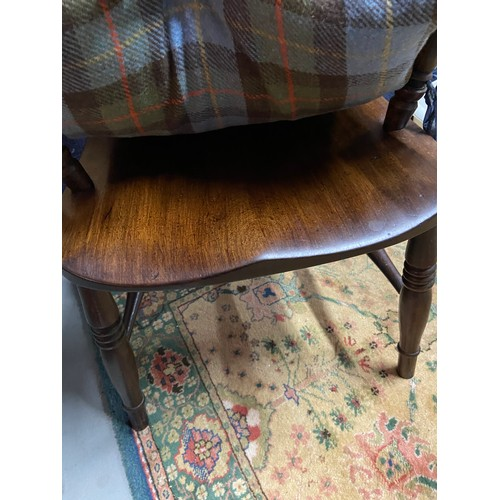 1A - Antique spindle back arm chair....