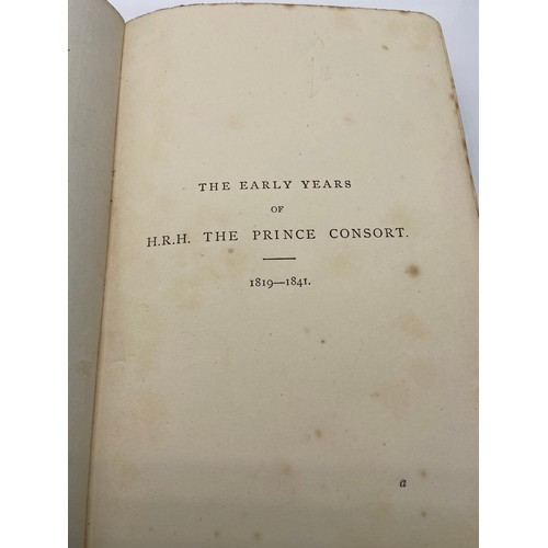 5 - The early years of His Royal Highness the Prince Consort : compiled under the direction of Her Majes...