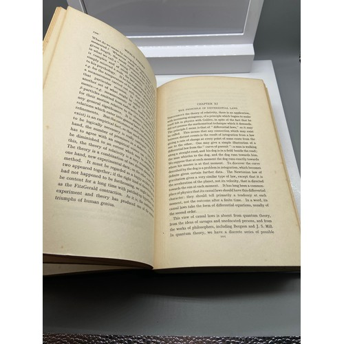 10 - 1st Edition Book titled 'The Analysis of Matter' by Bertrand Russell dated 1927....