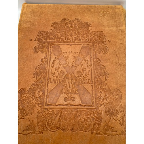11 - A 1st edition book titled 'The New Meal- Poke' Being the students bazaar number of 'The College' pre...