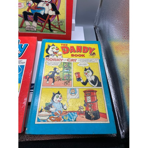 20 - A Lot of three 'The Dandy Book' Annuals, 1960, 1964 & 1962. All in good condition....