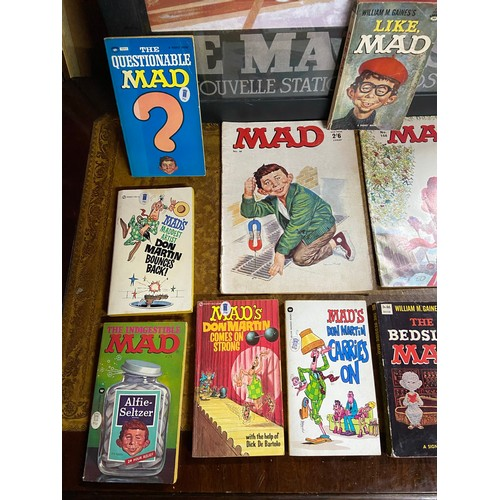 25 - A Collection of William M. Gaines's 'Mad' Books and annuals...