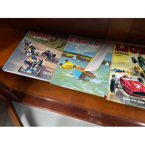 29 - A Collection of The Victor Book, Fireball, Supercar , Lion and Eagle annuals...